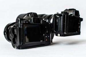 Vergleich L-Winkel MENGS und Really Right Stuff BOEM52-L für Olympus OM-D