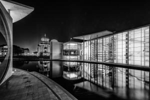 Fotos – Nachtausflug in Richtung Reichstag und Paul-Löbe Haus
