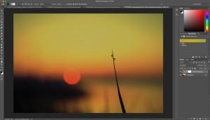 Fotologbuch lernt Photoshop Folge Einstellungsebene Verlaufsumsetzung