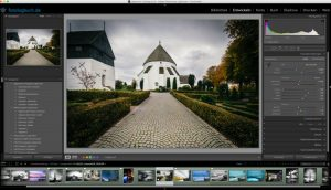 Lightroom Video Tutorial, Quicktipp – Pinsel und gerade Linien
