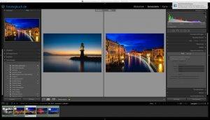 Lightroom Quicktipp – Ansicht Referenzfoto – Ordnerübergreifend