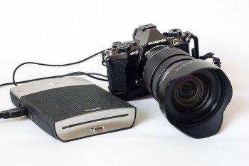 Der Polaroid GL10 - mein mobiles Druckstudio, (Foto copyright - Frank Weber - Berlin - fotologbuch.de)