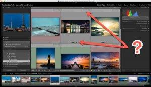 Lightroom – Quicktipp  Ansicht Optionen im Bibliotheksmodul aktivieren und konfigurieren