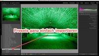 Lightroom – Quicktipp  Presets – Einfach und schnell importieren