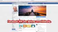 Fotologbuch – Quicktipp  – Facebook Problem mit dem Facebook Debugger beheben