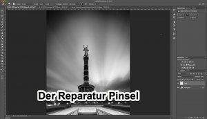 """Fotologbuch lernt Photoshop – Korrekturwerkzeuge """"Der Reparatur Pinsel"""""""