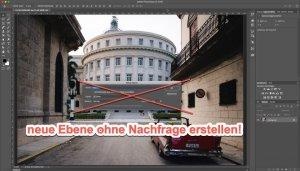 Photoshop Quicktipp – Neue Ebene ganz schnell erstellen