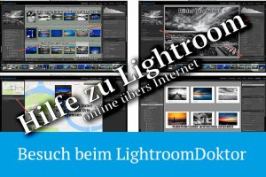 Neu – Lightroom Online Support: Besuch beim LightroomDoktor