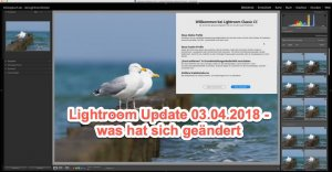 Lightroom Quicktipp – Update Info 03.04.2018 für Lightroom Classic CC