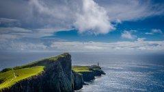 Neist Point Lighthouse auf Skye (Schottland), Neue Fotokurse und Lightroom Workshops für Anfänger als Einzeltraining verfügbar, (Foto copyright - Frank Weber - Berlin - fotologbuch.de)