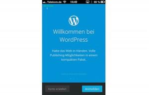 Arbeitet die iPhone App für WordPress fehlerfrei ???